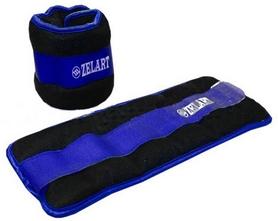 Фото 1 к товару Утяжелители-манжеты ZLT FI-2502-3 2 шт по 1,5 кг blue