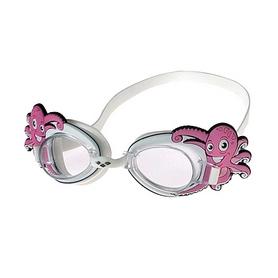 Очки для плавания детские Arena Bubble World белые (осьминог)