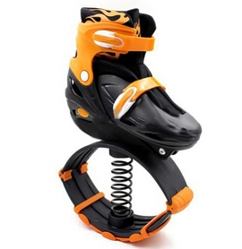 Фото 1 к товару Фитнес джамперы Kangoo Jumps SK-901H оранжевые