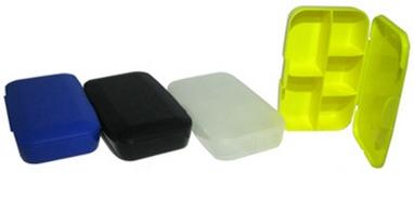 Таблетница PowerPlay Pill Master boxes желтая