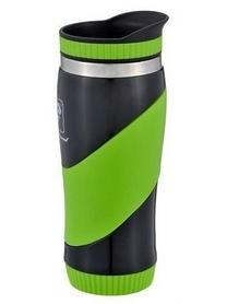 Термокружка PowerPlay Galaxy 350 мл зеленая
