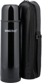 Термос туристический KINGHoff КН-4057 750 мл  черный