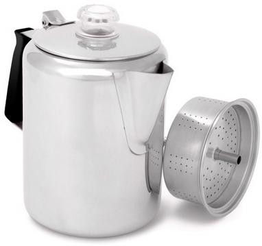 Кофеварка GSI Outdoor Glacier Stainless 9 Cup