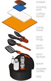 Фото 8 к товару Набор туристический GSI Outdoor Crossover Kitchen Kit