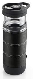 Термокружка для приготовления кофе GSI Outdoors Commuter Java Press 440 мл графитовая