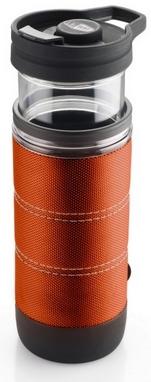 Термокружка для приготовления кофе GSI Outdoors Commuter Java Press 445 мл оранжевая