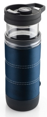 Термокружка для приготовления кофе GSI Outdoors Commuter Java Press 445 мл синяя