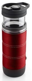 Фото 1 к товару Термокружка для приготовления кофе GSI Outdoors Commuter Java Press 445 мл красная