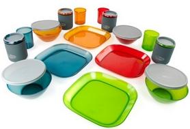 Фото 1 к товару Набор посуды GSI Outdoors Infinity 4 Person Deluxe Tableset