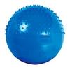 Мяч для фитнеса (фитбол) полумассажный HMS 75 см cиний - фото 1