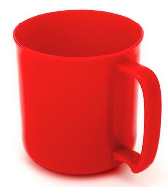 Чашка GSI Outdoors Cascadian Mug 414 мл красная