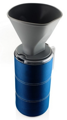 Чашка с фильтром для кофе GSI Outdoors JavaDrip 1,48 л синяя