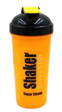 Шейкер Smart Shake 700 мл оранжево-черный