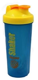 Шейкер Smart Shake 600 мл cине-желтый