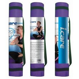Фото 2 к товару Коврик для йоги (йога-мат) Joerex iСare 4 мм с чехлом