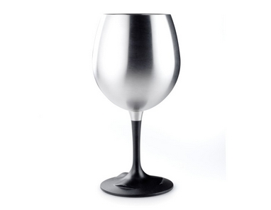 Распродажа*! Бокал GSI Outdoors Glacier Stainless Steel Nesting Wine Glass 450 мл