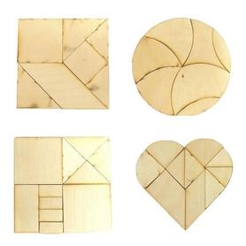 Фото 3 к товару Настольная игра геометрическая Крутиголовка