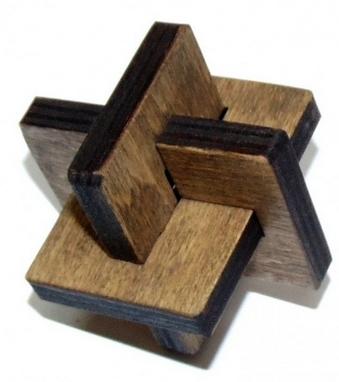 Игра настольная геометрическая Крутиголовка