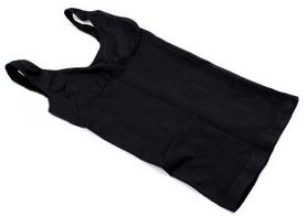 Майка утягивающая (корректирующая) Control Bodysuit Thin vest ST-9161 черная - Фото №2