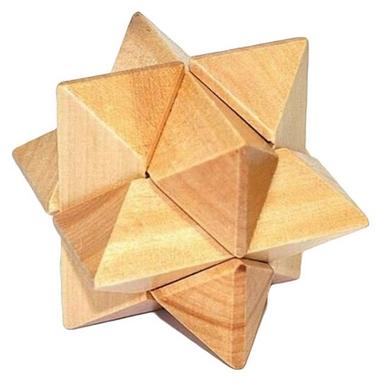 Головоломка деревянная Крутиголовка