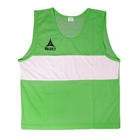 Накидка (манишка) тренировочная детская Select Bibs Standard junior зеленая