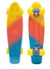 Пенни борд Penny Fish Color SK-402-9 желтый/оранжевый/голубой - фото 2