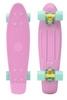 Пенни борд Penny Color Point Fish SK-403-2 розовый/желтый/зеленый - фото 1