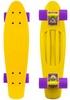 Пенни борд Penny Color Point Fish SK-403-4 желтый/фиолетовый - фото 1