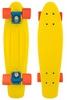 Пенни борд Penny Color Point Fish SK-403-8 желтый/синий/оранжевый - фото 1