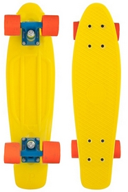 Фото 1 к товару Пенни борд Penny Color Point Fish SK-403-8 желтый/синий/оранжевый