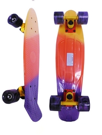 Пенни борд Penny Fish Swirl SK-408-2 разноцветный