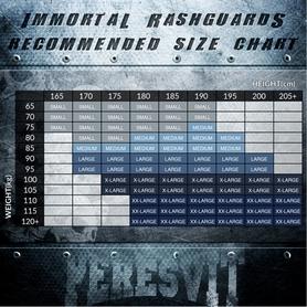Фото 3 к товару Рашгард Peresvit Immortal Silver Force Rashguard Short Sleeve Red Burn