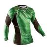 Рашгард Peresvit Immortal Silver Force Rashguard Long Sleeve Green Lantern - фото 3
