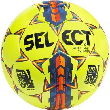 Мяч футзальный Select Brillant Super FIFA желтый