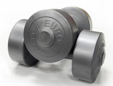 Гантели виниловые 2х1,5 кг