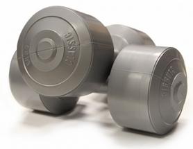 Гантели виниловые 2х5 кг