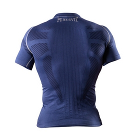Фото 2 к товару Футболка компрессионная Peresvit 3D Performance Rush Compression T-Shirt Navy