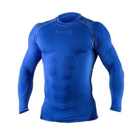 Футболка компрессионная с длинным рукавом Peresvit 3D Performance Rush Compression T-Shirt Royal