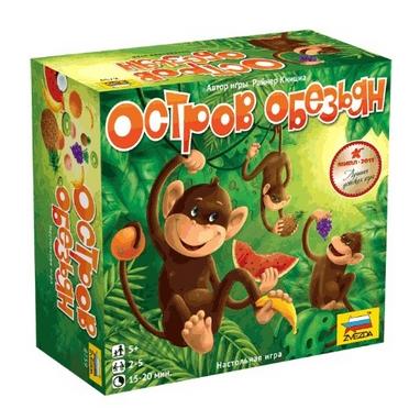 Игра настольная Остров обезьян (Monkeyland)