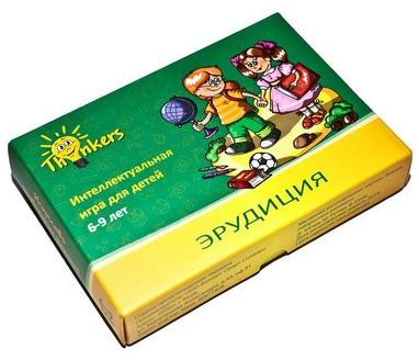 Игра настольная Thinkers 6-9 лет. Эрудиция