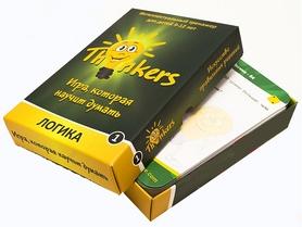 Фото 2 к товару Игра настольная Thinkers 9-12 лет. Логика