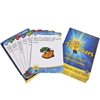 Игра настольная Thinkers 9-12 лет. Причина и следствие