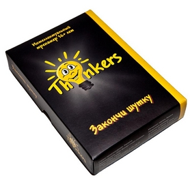 Игра настольная Thinkers 16+. Закончи шутку