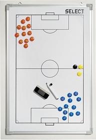 Доска тактическая Select Alu Football