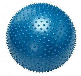 Мяч для фитнеса (фитбол) массажный 75 см Pro Supra синий
