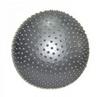 Мяч для фитнеса (фитбол) массажный 75 см Pro Supra серый - фото 1