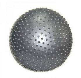 Мяч для фитнеса (фитбол) массажный 75 см Pro Supra серый