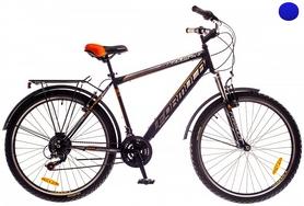 """Велосипед городской Formula Magnum AM 14G Vbr St с багажником 26"""" 2016 сине-желтый, рама 19"""""""