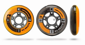 Колеса для роликов K2 80 mm Wheel 4-Pack - 2015 - 80 мм