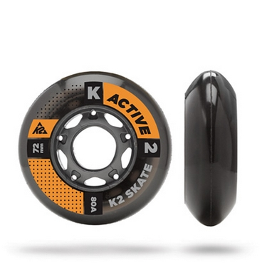 Колеса для роликов K2 72 мм Wheel 4-Pack - 2015
